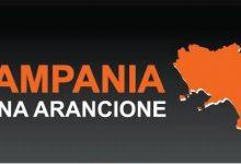 Campania verso zona arancione