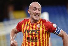 Il Benevento a Crotone con la novità di Caldirola in difesa che ha recuperato in tempi record