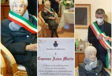 """Molinara festeggia la sua nonna """"110…e lode"""""""