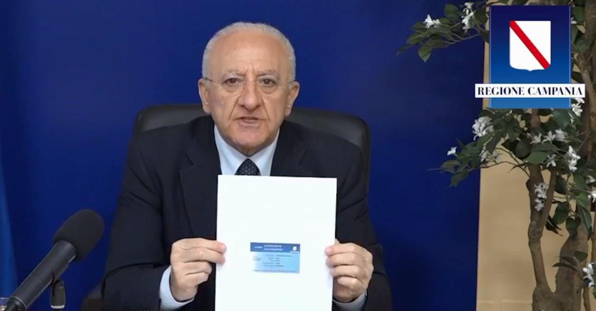 Covid, ordinanza della Regione: vantaggi per i possessori della card di avvenuta vaccinazione