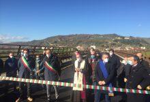Riapertura tra le polemiche per il ponte sul fiume Ufita