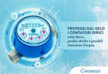 Benevento| Calo delle temperature, i consigli di GESESA per proteggere i contatori dal gelo