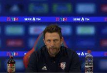"""Cagliari, Di Francesco in vista del Benevento: """"Servono i tre punti. Nessun vantaggio, non svelo la formazione"""""""
