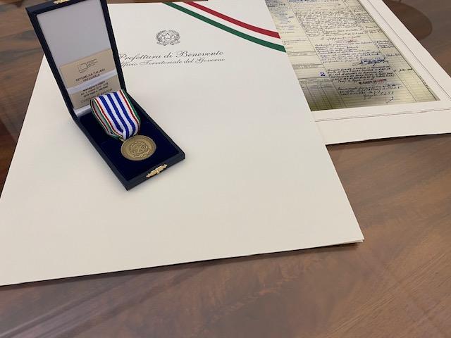 Benevento| Giornata della Memoria, in Prefettura consegnate le 'Medaglie D'Oro'
