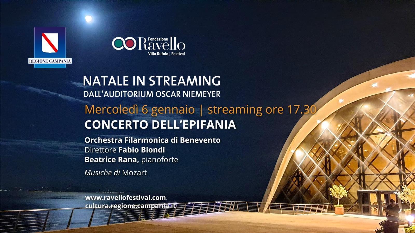 Benevento| L'OFB in concerto per l'Epifania. Primo concerto dell'anno per l'Orchestra Filarmonica, Beatrice Rana e Fabio Biondi