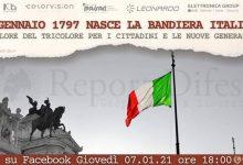 Benevento  Associazione Guerra di Liberazione, 224esima festa del Tricolore: convegno online sulla nascita della Bandiera italiana