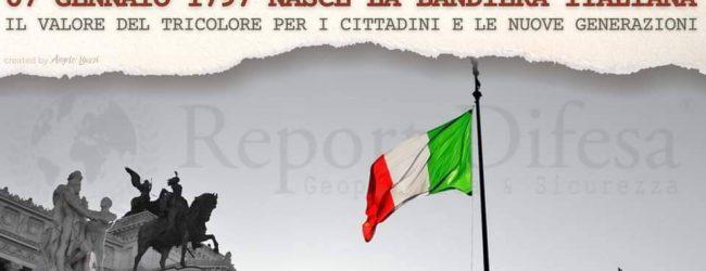 Benevento| Associazione Guerra di Liberazione, 224esima festa del Tricolore: convegno online sulla nascita della Bandiera italiana