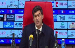 """Roma, Fonseca ammette: """"Benevento bravo a chiuderci"""""""