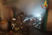 Mercogliano  Incendio in un garage condominiale, edificio evacuato