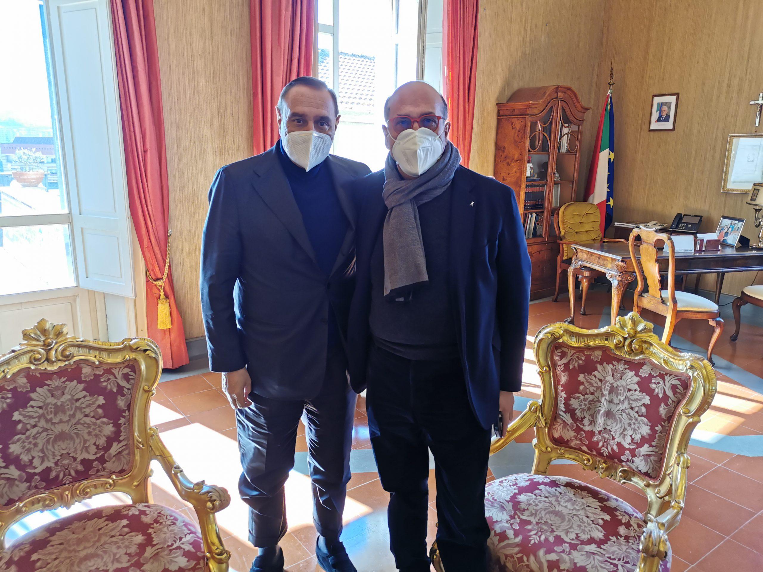 Benevento| Napoli-Bari, Mastella incontra il delegato del Presidente De Luca Ferdinando Errico