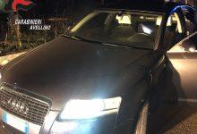Montemarano  Inseguimento nella notte, ladri abbandonano auto e refurtiva e scappano a piedi