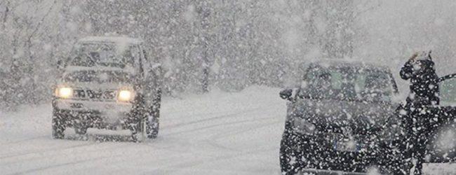 Piano neve: Provincia, Protezione civile e Anas già operativi. Scuole chiuse ad Avellino e in moltissimi comuni