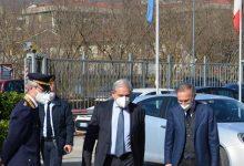 Il neo procuratore Airoma in visita alla Questura di Avellino