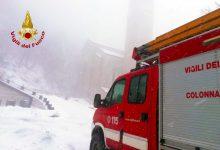 Montevergine  Quattro ragazzi bloccati in auto dalla neve a Campo Maggiore