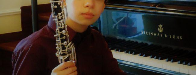 Il giovane oboista Ruggiero Premio assoluto in numerosi concorsi internazionale