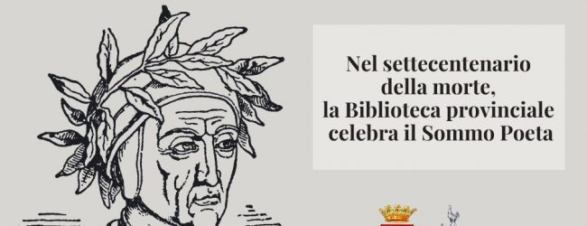 """Avellino  """"Le donne di Dante"""", lunedì l'incontro su facebook promosso dalla Biblioteca Provinciale"""