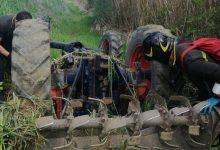 Melizzano, si ribalta con il trattore: muore 74enne