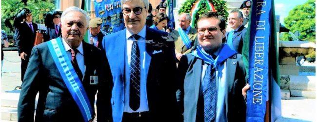 L'Associazione Guerra di Liberazione Sezione Provinciale di Benevento e Sezione di Arpaise, salutano il Prefetto di Benevento Francesco Antonio Cappetta