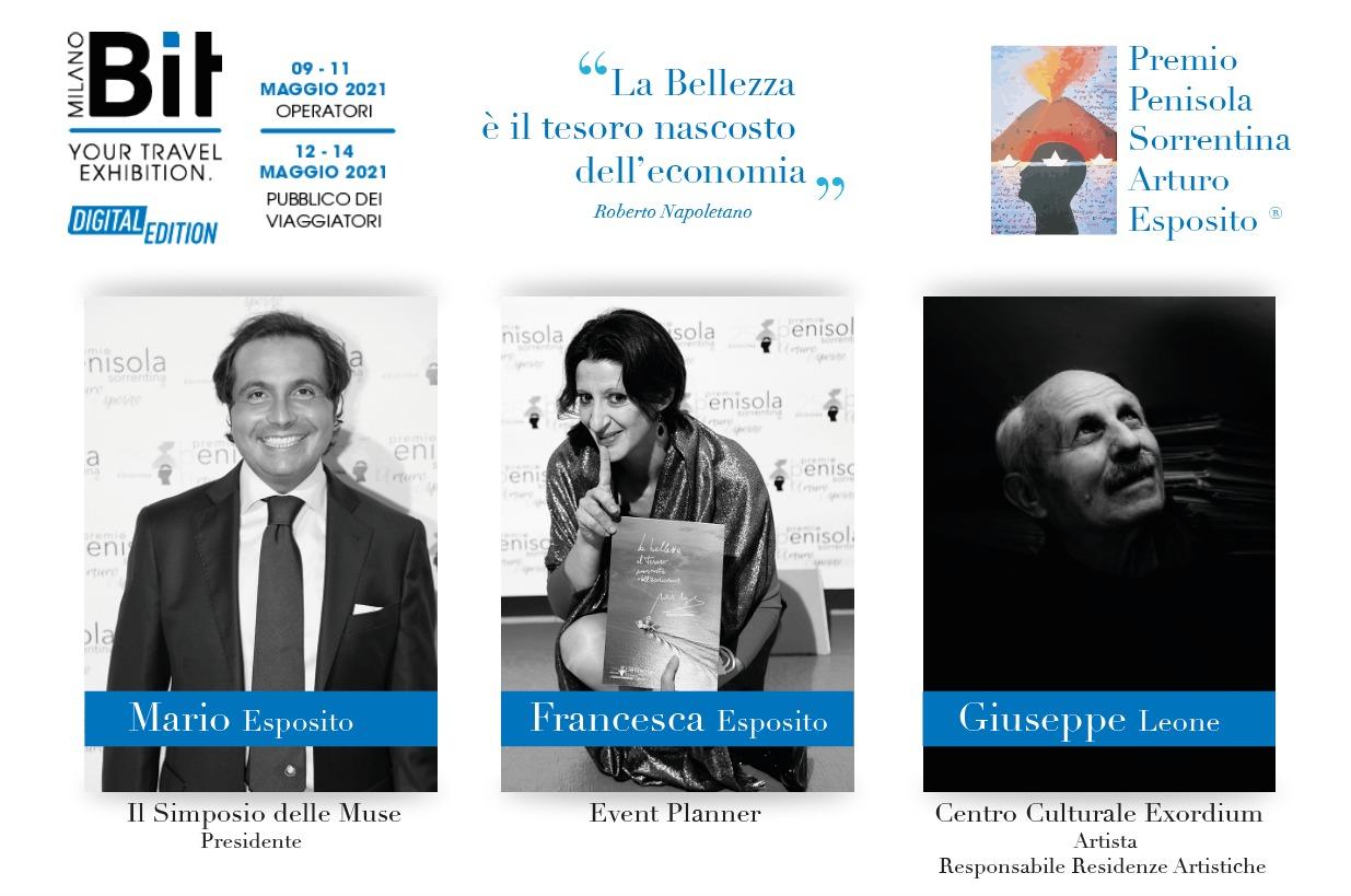 Il Premio Penisola Sorrentina alla BIT di Milano