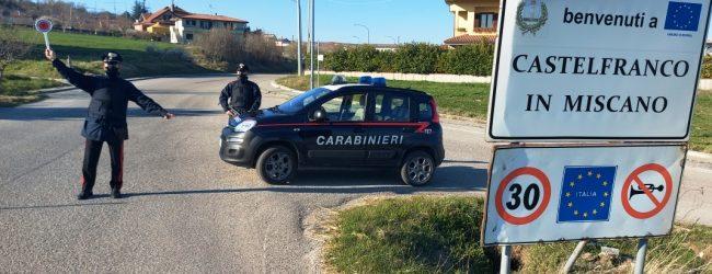 Giovane positivo al Covid in giro sul trattore, denunciato dai Carabinieri