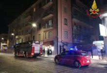 Avellino| In fiamme terrazzo di uno studio radiologico, paura in via Del Balzo