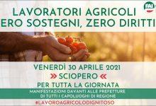 Napoli, iniquita' decreti sostegni: lavoratori agricoli in Piazza del Plebiscito il 30 aprile