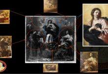 Sei parti di un dipinto tagliato restituite dai Carabinieri per la Tutela del Patrimonio Culturale al Comune di Montesarchio