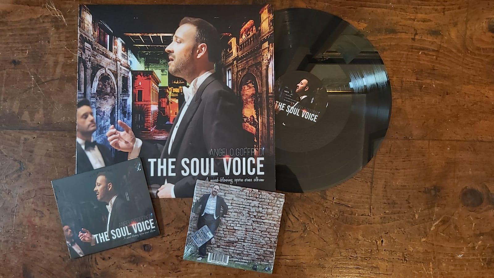 """Musica: """"The Soul Voice"""" il nuovo album di Angelo Goffredi"""