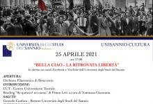 """Unisannio, sul canale youtube domenica 25 Aprile l'evento 'Bella Ciao, La ritrovata liberta"""""""