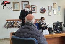 Vaccini anticovid, anche in Irpinia carabinieri in aiuto agli anziani per la prenotazione