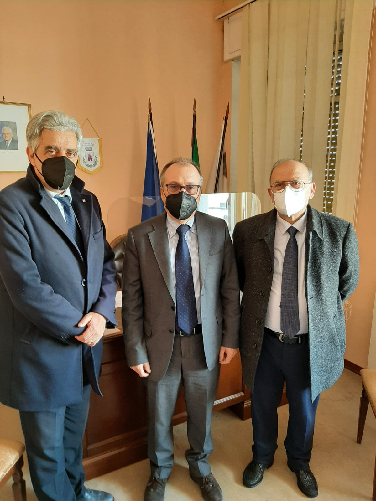 """Alta Velocità NA-BA: il Centro Studi """"A. Moro"""" ricevuto dal Commissario prefettizio Boniello"""