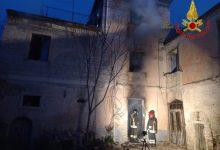 Mirabella Eclano| Incendio in una casa di campagna, 78enne sotto shock