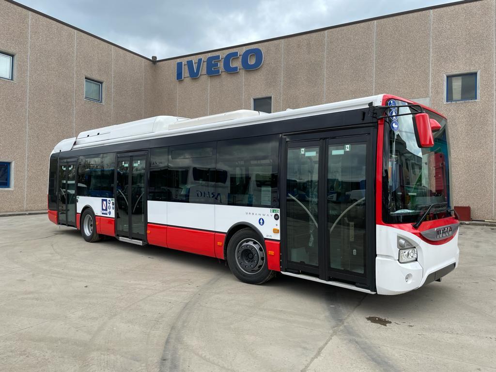 Autobus urbani ibridi, domani la consegna dei nuovi mezzi a Grottaminarda