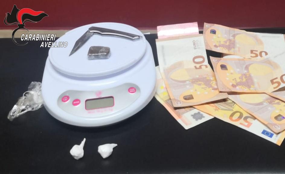 Atripalda| Spaccia cocaina nonostante le misure anticovid, arrestato pusher 30enne