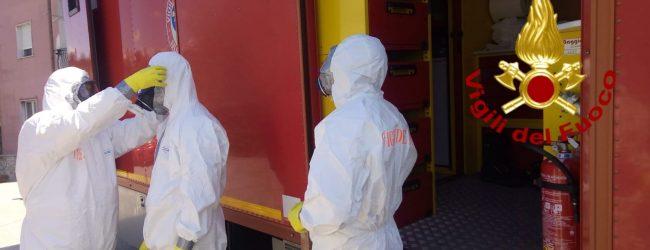 Manocalzati| Persona affetta da Covid e bloccata a letto, per il trasporto in ospedale intervengono i vigili del fuoco