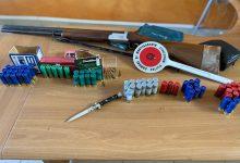 Montesarchio, ritrovate armi da fuoco in  locali del centro storico