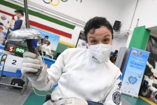 La schermitrice sannita Rossana Pasquino alle Paralimpiadi di Tokyo