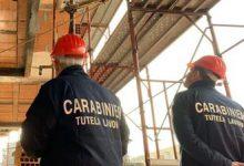 Controlli nel settore edile, sanzioni del Nucleo Carabinieri Ispettorato del Lavoro Benevento