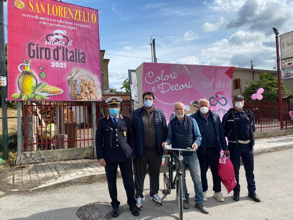 Giro D'Italia, il Premio San Lorenzello