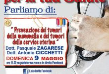 """Il Rotary Club di Benevento opera per la tua salute"""": domenica appuntamento con la """"Prevenzione dei tumori della mammella  e dei tumori della cervice uterina"""""""