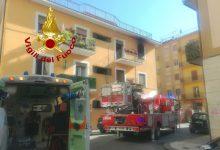 Avellino  Appartamento in fiamme, anziana inala i fumi e sviene: salvata dai vigili del fuoco