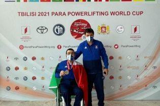 Montecalvo  Giochi paralimpici, Peppe Colantuoni argento alla World Cup di Tbilisi nel sollevamento pesi