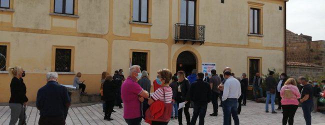 """Vaccino J&J, l'open day di Puglianello. Volpe: """"Iniziativa anche in altri comuni"""""""
