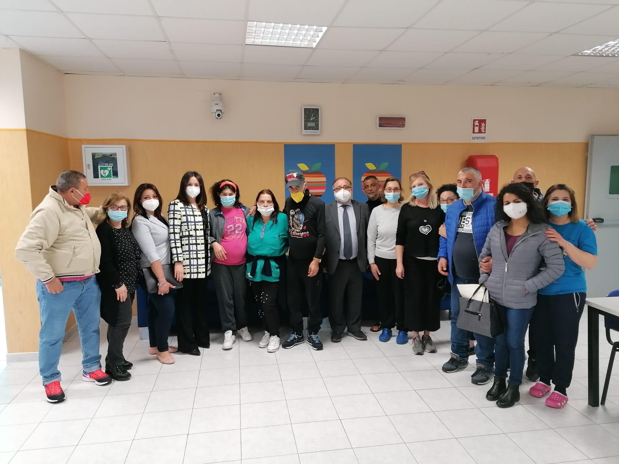 """Ciambriello in visita al SPDC di Sessa Aurunca e alla REMS di Calvi Risorta: """"Mi auguro che intorno al malato mentale siano costruiti più progetti di inclusione sociale"""""""