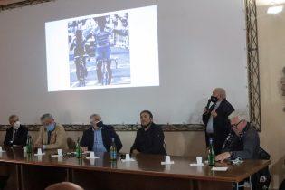 Giro d'Italia nel Sannio, ieri a Guardia Sanframondi il convegno con l'ex corridore Claudio Chiappucci