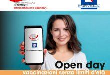 Vaccini, nel Sannio giovedi e venerdi open day 18-59 anni in otto sedi. Alla Caserma Pepicelli somministrazioni ai maturandi
