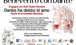 """""""Benevento con Dante"""", il prossimo appuntamento è con la 'Compagnia delle ex' il 21 giugno al Teatro Romano"""