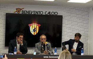"""Benevento, Caserta si presenta. Vigorito: """"Fonderemo un anno importante"""""""