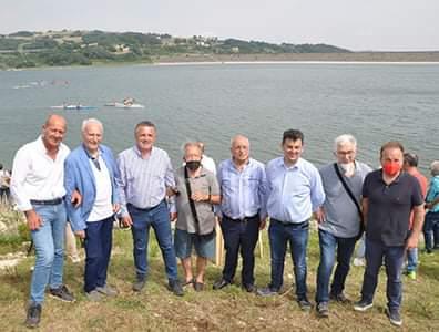 """Diga di Campolattaro:grande giornata di sport. Il presidente Di Maria: per la prima volta, dopo 40 anni, il Sannio si è """"ripreso"""" il suo lago"""