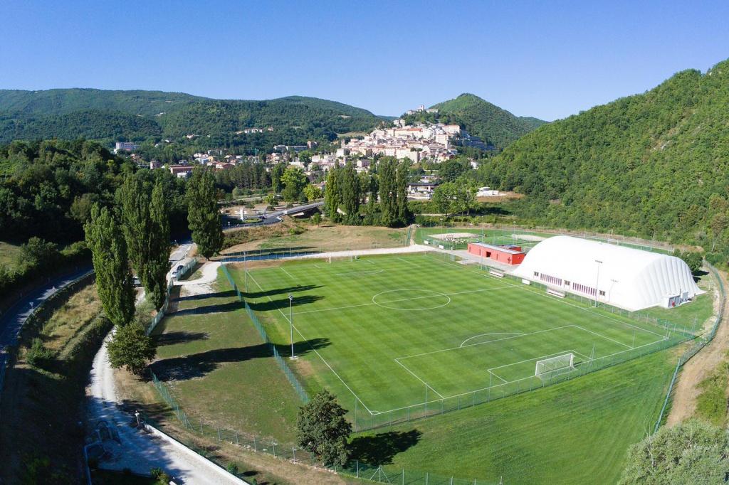 Il Benevento presenta il ritiro estivo di Cascia